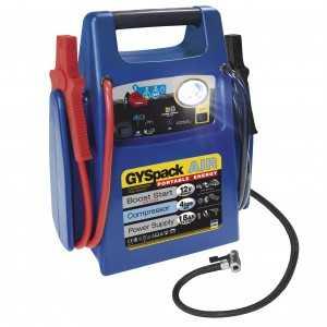 GYSPACK AIR - Batterie interne 18Ah - Lampe LED - Compresseur