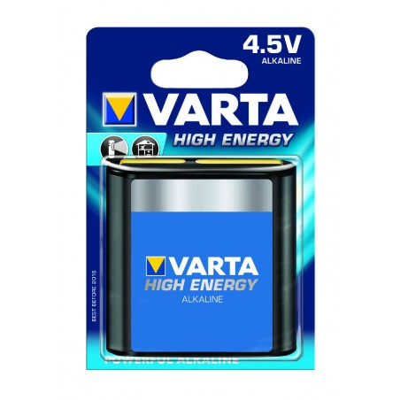 BLISTER X 1 PILE VARTA HIGH ENERGY 3LR12 / 4.5V