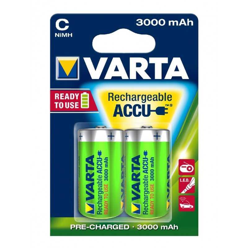 BLISTER X 2 ACCUS VARTA HR14 3000MAH