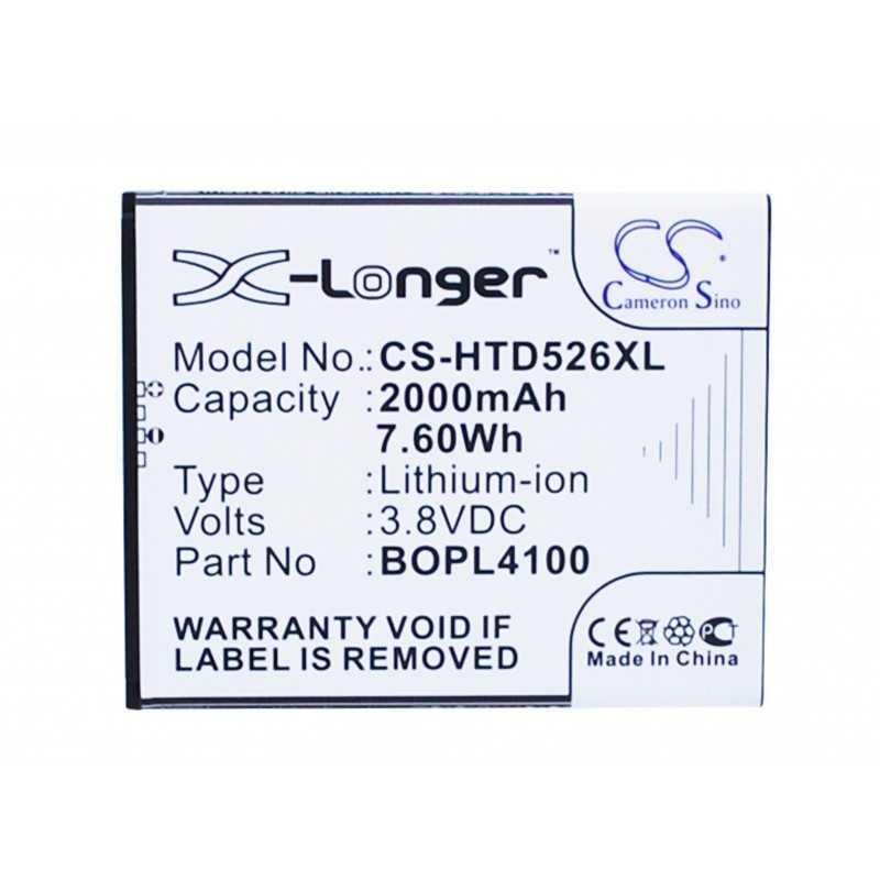 Batterie Htc BOPL4100