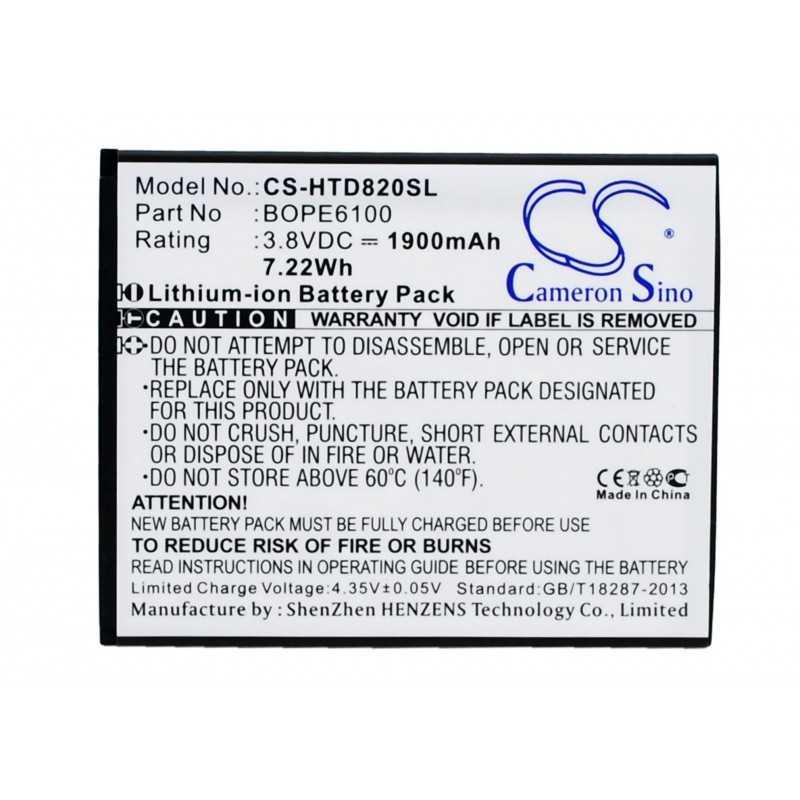Batterie Htc BOPE6100