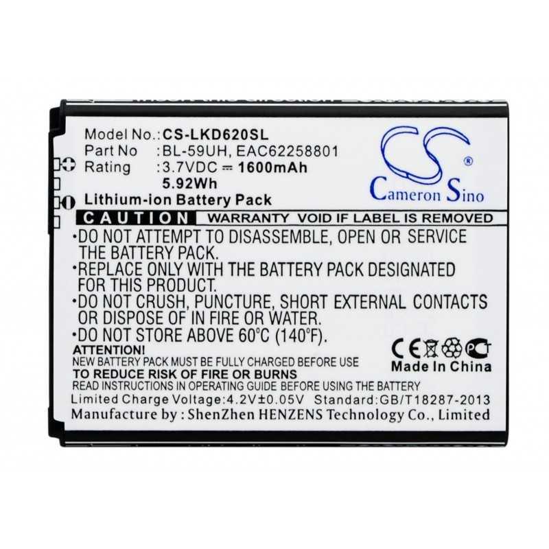 Batterie Lg BL-59UH