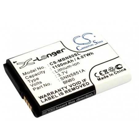 Batterie Motorola BN80