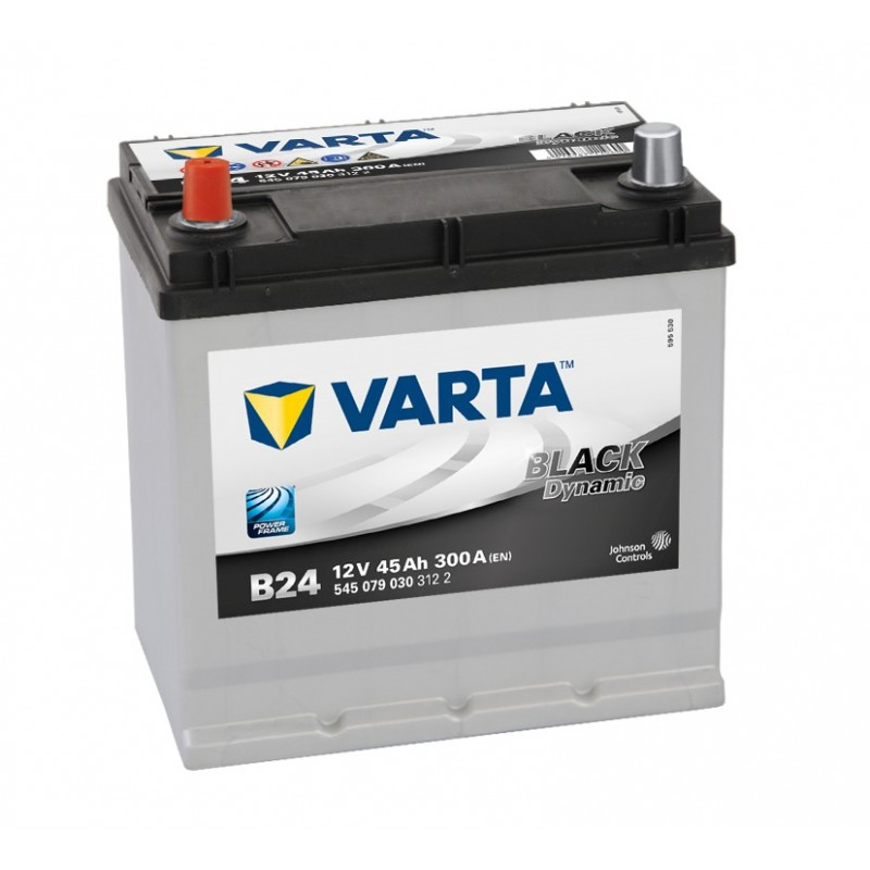 BATTERIE VARTA BLACK DYNAMIC B24 +G