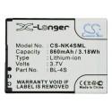 Batterie Nokia BL-4S