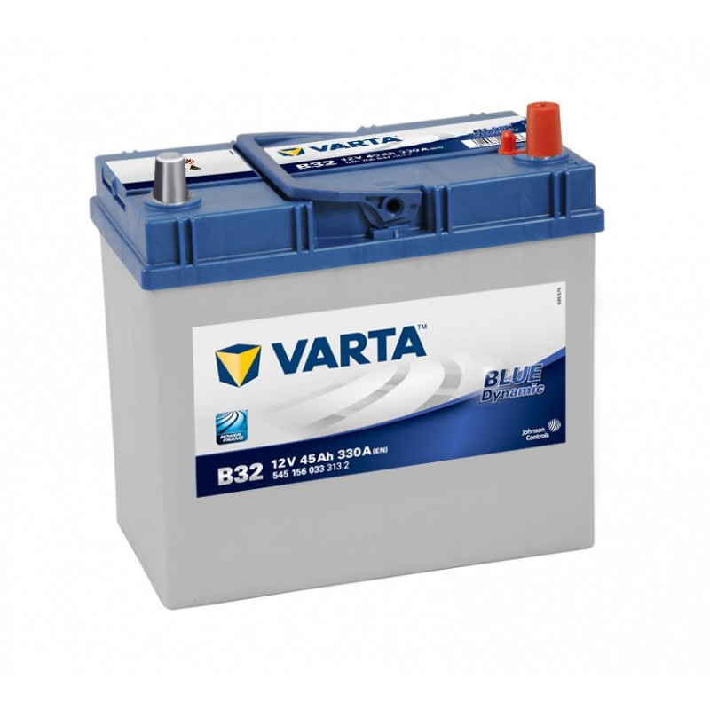 BATTERIE VARTA BLUE DYNAMIC B32 12V 45V 330A