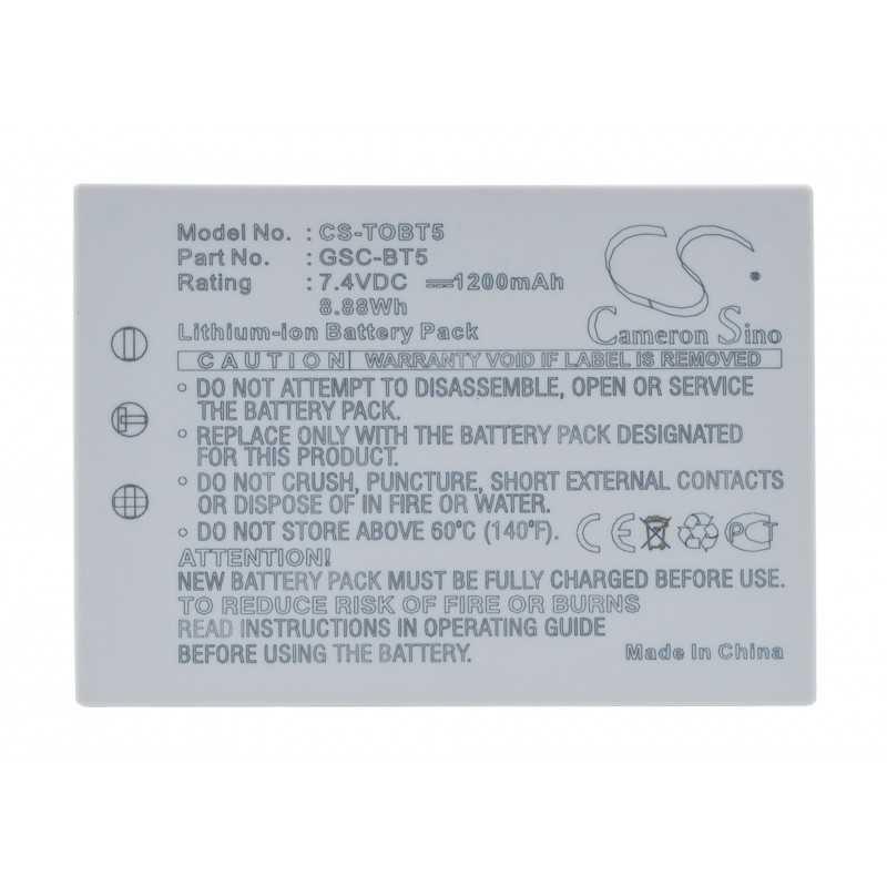 Batterie Toshiba BSC-BT5