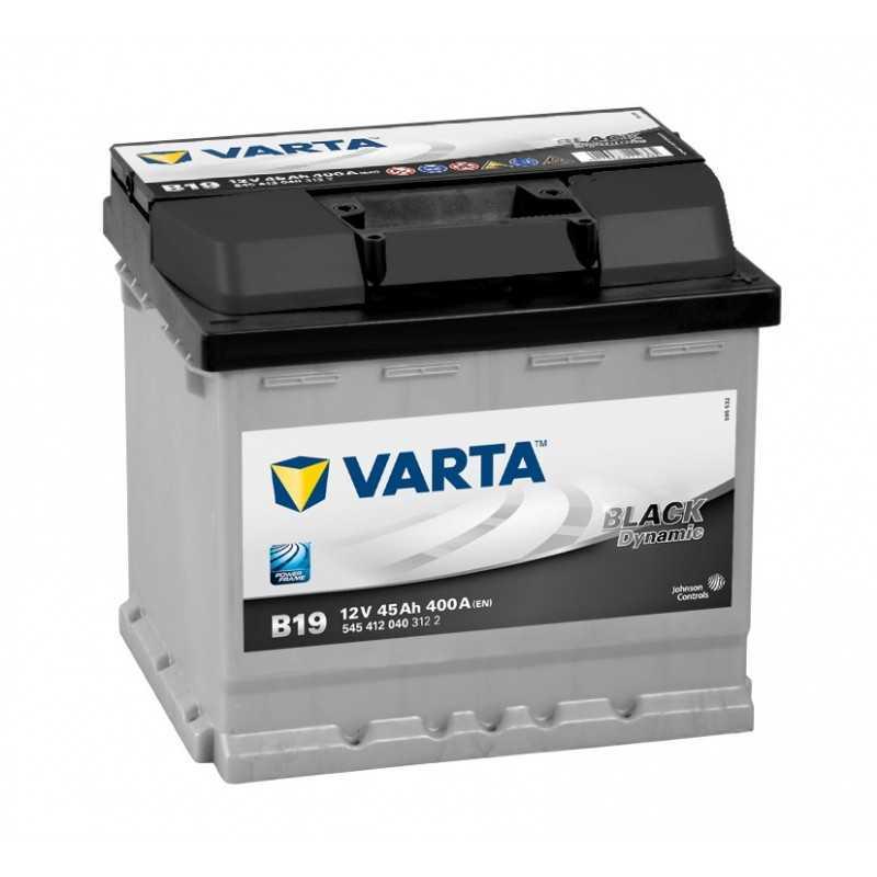 BATTERIE VARTA BLACK DYNAMIC B19 12V 45AH 400A