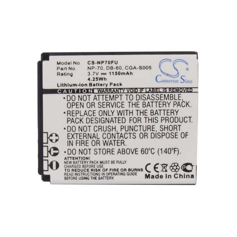 Batterie Ricoh DB-60