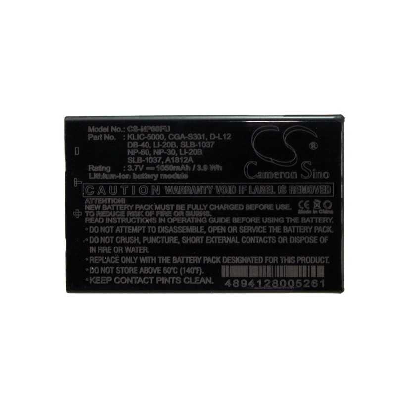 Batterie Ricoh DB-40