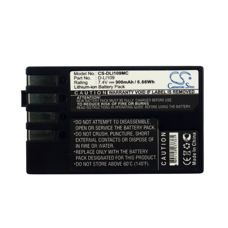 Batterie Pentax D-LI109