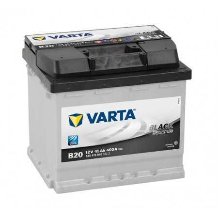 BATTERIE VARTA BLACK DYNAMIC B20 12V 45AH 400A +G