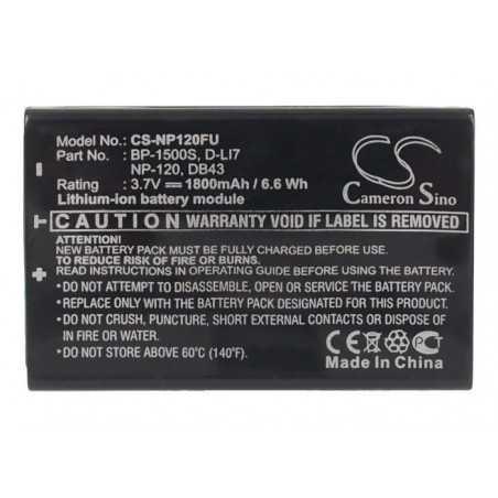 Batterie Pentax D-LI7