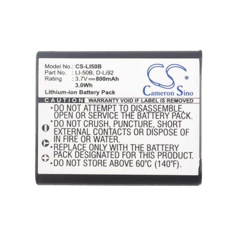 Batterie Pentax D-Li92