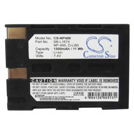 Batterie Pentax D-LI50