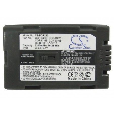 Batterie Hitachi DZ-BP16