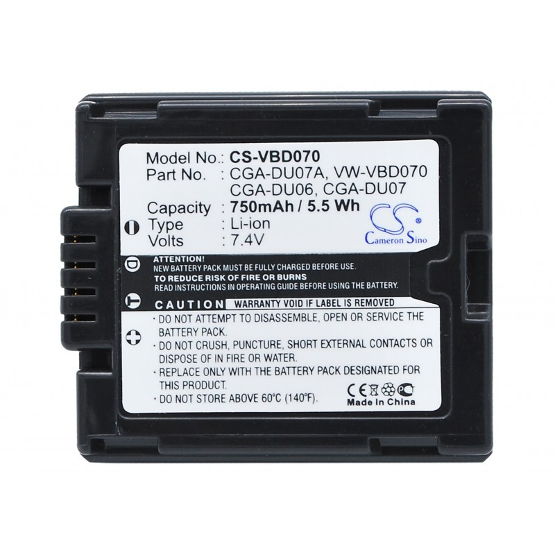 Batterie Hitachi DZ-BP7SJ