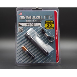 MAGLITE SOLITAIRE GRISE BLISTER