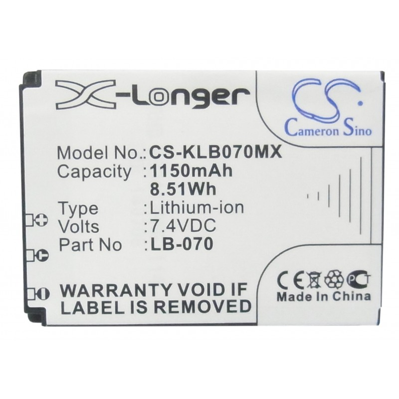 Batterie Kodak LB-070