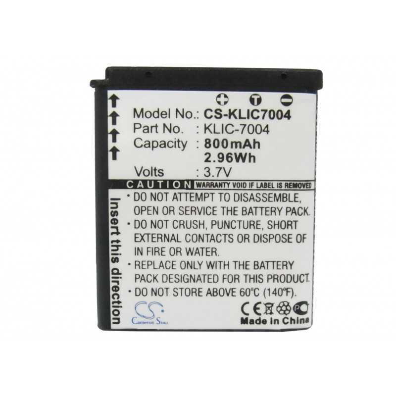 Batterie Kodak KLIC-7004