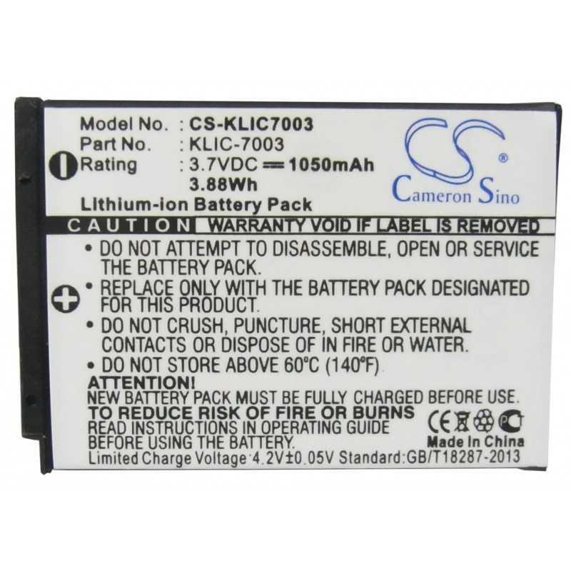 Batterie Kodak KLIC-7003