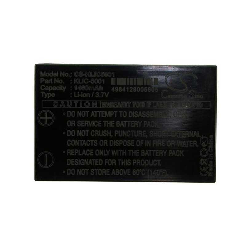 Batterie Kodak KLIC-5001