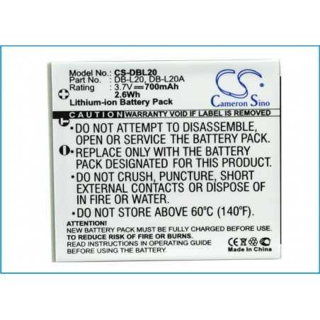 Batterie Sanyo DB-L20