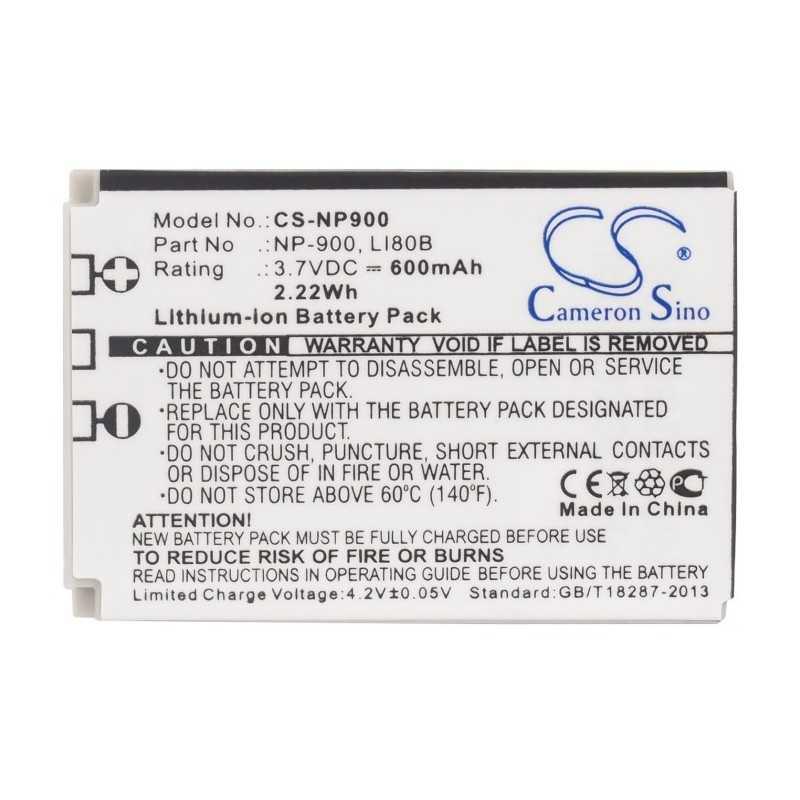 Batterie Minolta NP-900