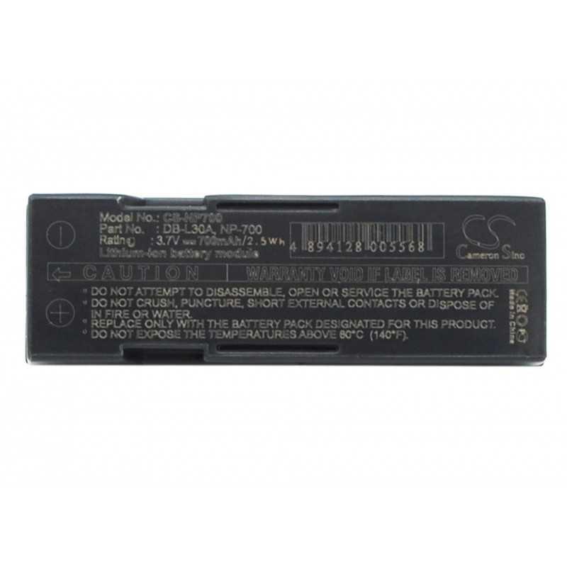 Batterie Minolta NP-700