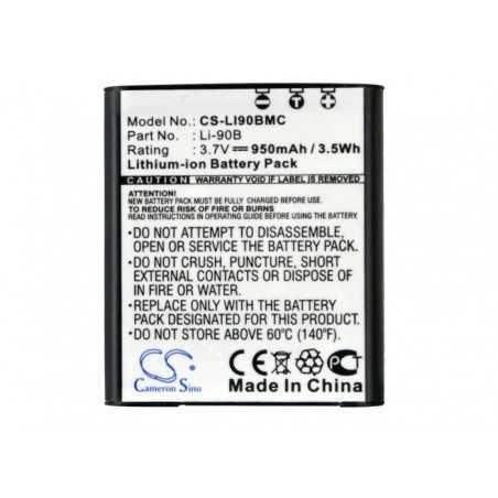 Batterie Olympus Li-90B