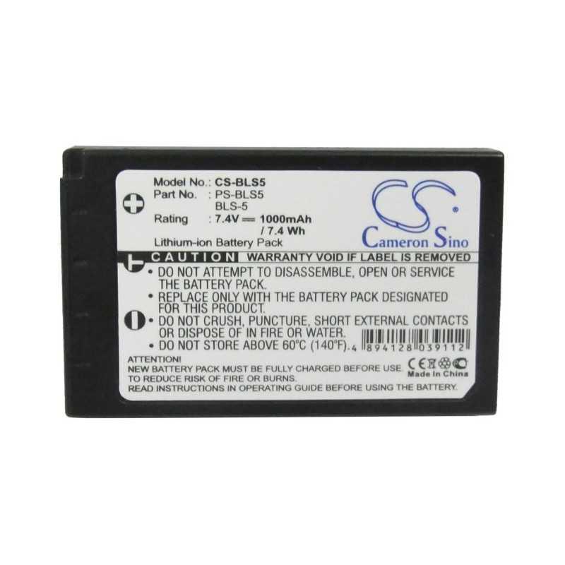 Batterie Olympus BLS-5
