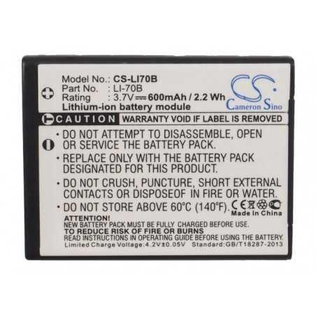 Batterie Olympus Li-70B