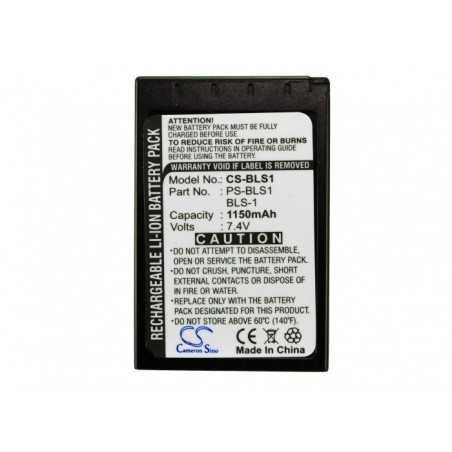 Batterie Olympus BLS-1