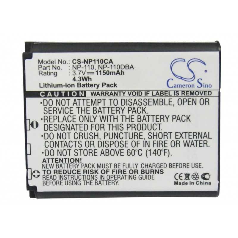 Batterie Casio NP-110