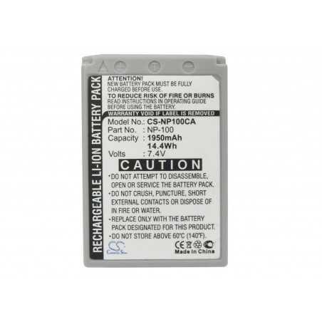 Batterie Casio NP-100