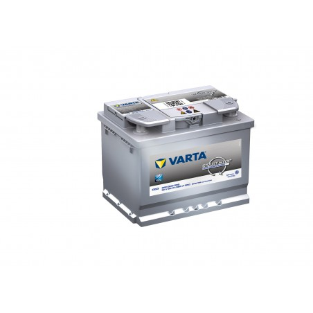 BATTERIE VARTA START AND STOP EFB D53 12V 60AH 560A