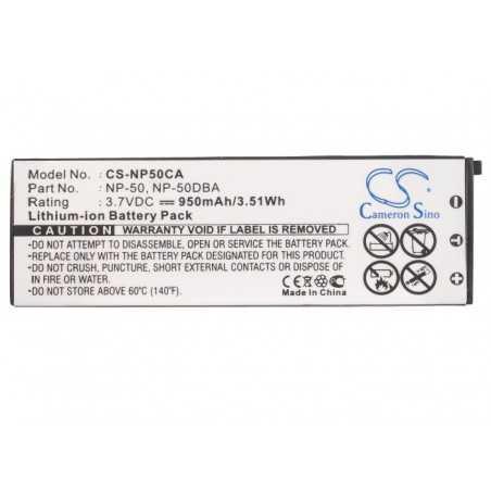 Batterie Casio NP-50