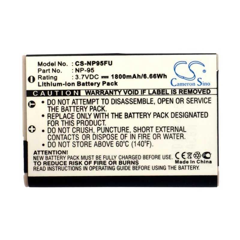 Batterie Fujifilm NP-95