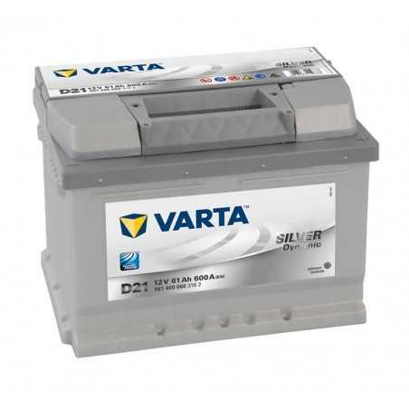 BATTERIE VARTA SILVER DYNAMIC D21 12V 61AH 600A