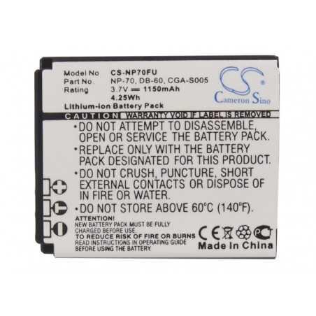 Batterie Fujifilm NP-70