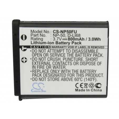 Batterie Fujifilm NP-50
