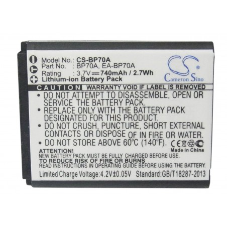 Batterie Samsung BP-70A
