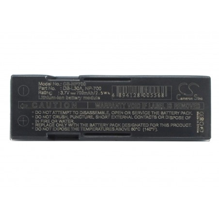 Batterie Samsung SLB-0637