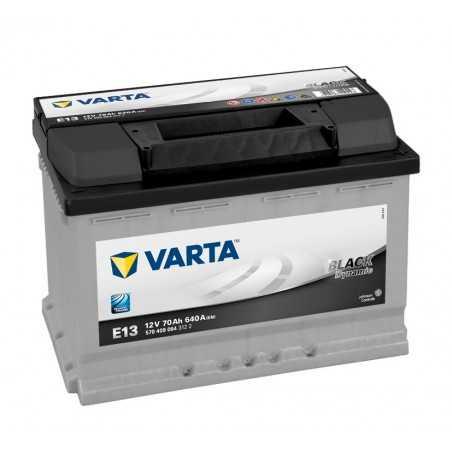 BATTERIE VARTA BLACK DYNAMIC E13 12V 70AH 640A