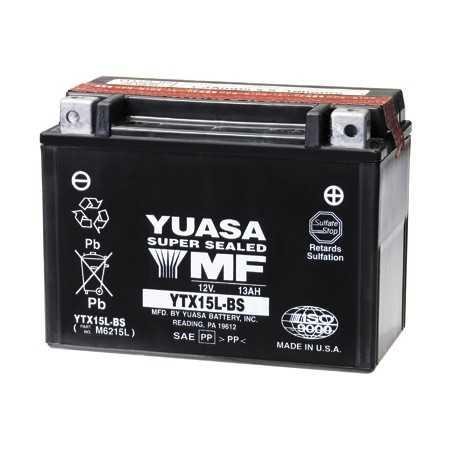 BATTERIE MOTO YUASA YTX15L-BS