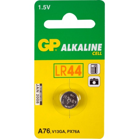PILE GP 1,5 VOLTS LR44 V13GA