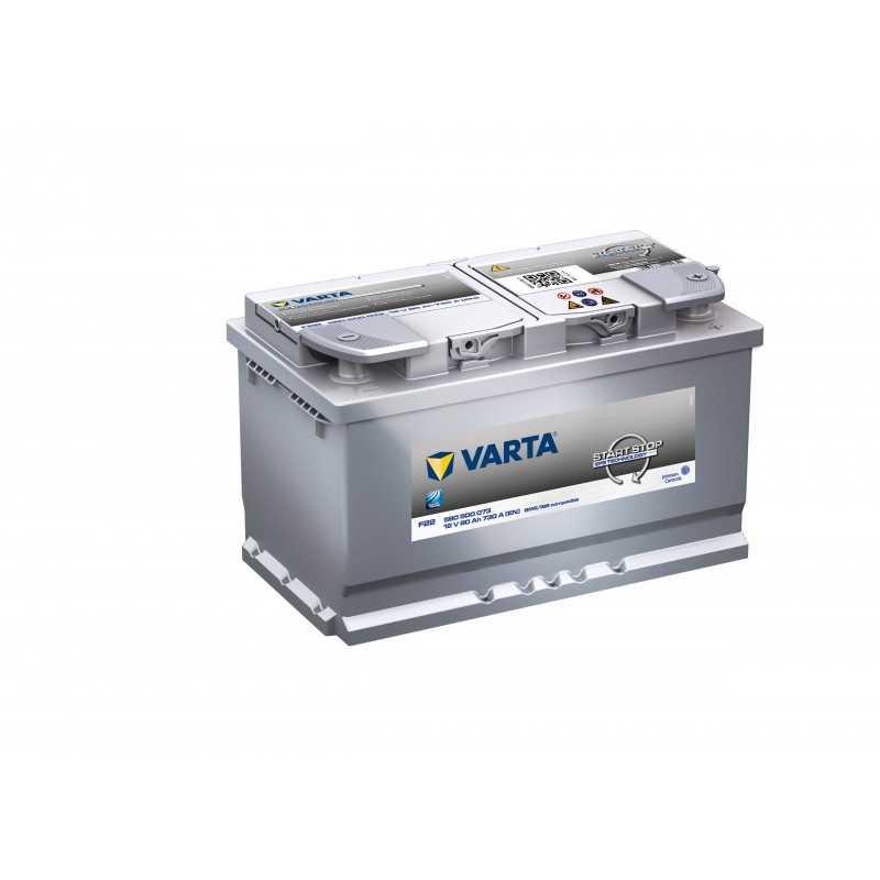 BATTERIE VARTA START AND STOP EFB F22 12V 80AH 730A