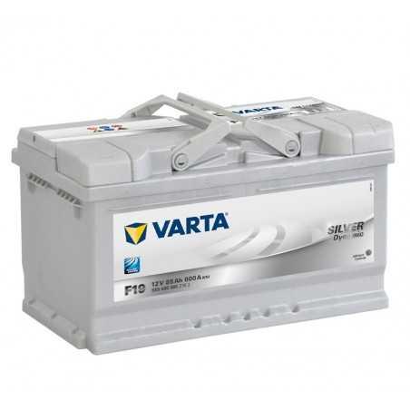 BATTERIE VARTA SILVER DYNAMIC F19 12V 85AH 800A