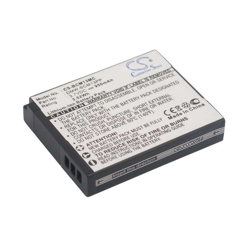 Batterie Panasonic DMW-BCM13