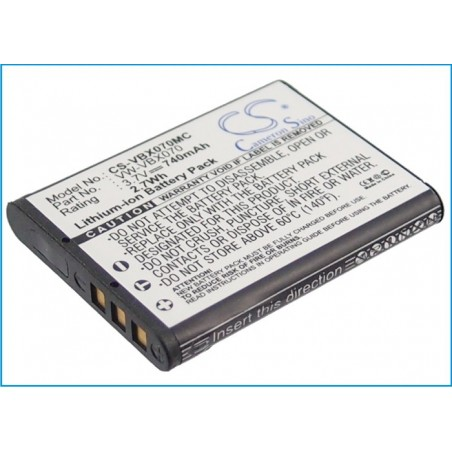 Batterie Panasonic VW-VBX070